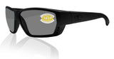 Costa Del Mar Tuna Alley Blackout Frame Gray 580P Plastic Polarized Lens