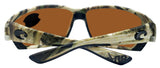 Costa Del Mar Tuna Alley Mossy Grass Camo Green Mirror 580G Glass Polarized Lens