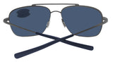 Costa Del Mar Canaveral Brushed Gray 580 Plastic Polarized Sunglasses