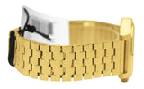 Nixon A045511 Time Teller All Gold Dial Stainless Steel Bracelet Unisex Watch
