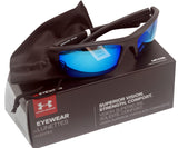 Under Armour 8600106-010161 propel satin black rubber frame blue lens new