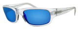 Maui Jim B103-05CM Stingray Matte Crystal Clear Blue Polarized Lens Sunglasses
