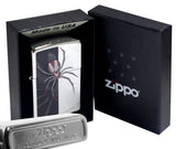 Zippo 28795 Spider Web High Polish Chrome Pocket Lighter