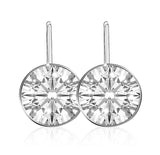 Swarovski Bella earrings white rhodium plated 5085608