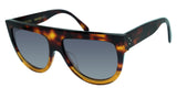 Celine 41026/S-233-HD havana brown gray gradient 58mm lens trending sunglasses