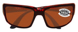 Costa Del Mar Fantail Tortoise Frame Copper 580G Glass Polarized Lens