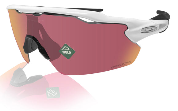 Oakley Radar EV Pitch sunglasses  white prizm field lens NEW Authentic OO9211