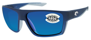 Costa Del Mar Bloke Bahama Fade Frame Blue Mirror 580G Glass Polarized Lens