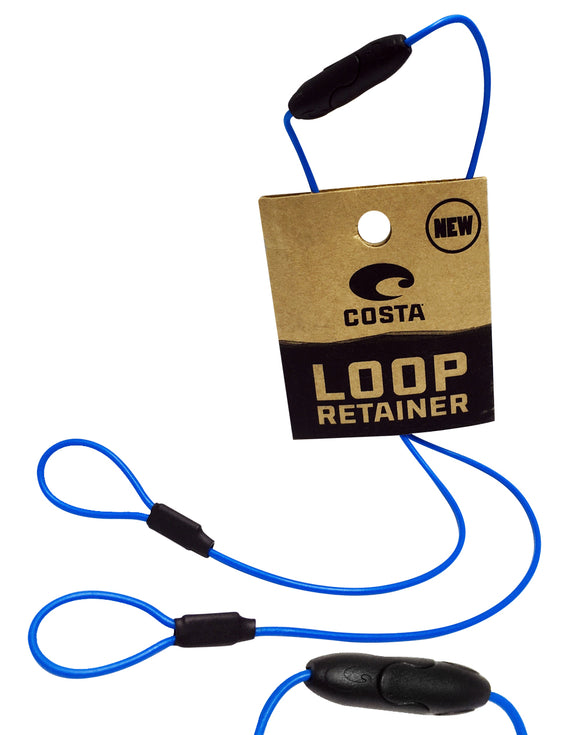 Costa Del Mar LOOP retainer BLUE NEW LR 46