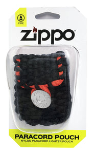 Zippo Paracord Pouch 40467 belt and clip loops
