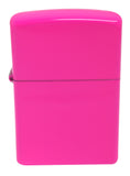 Zippo 28886 Brilliant Splash Neon Pink Windproof Lighter