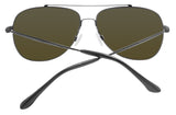 Maui Jim B789-02S Cinder Cone Dark Gunmetal Frame Blue Hawaii Lens Sunglasses