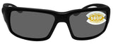 Costa Del Mar Fantail Blackout Frame Gray 580P Plastic Polarized Lens