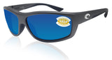 Costa Del Mar Saltbreak Steel Gray Frame Blue Mirror 580P Plastic Polarized Lens