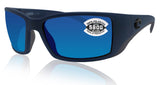 Costa Del Mar Blackfin Midnight Blue Frame Blue Mirror 580 Glass Polarized Lens