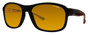 Arnette Uncorked AN4209-03 Black Frame Gold Mirror 59 mm Sunglasses 2273/7D New