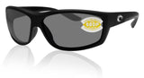 Costa Del Mar Saltbreak Black Frame Gray 580P Plastic Polarized Lens