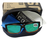 Costa Del Mar Caballito Coconut Fade Frame Green Mirror 580G Glass Lens