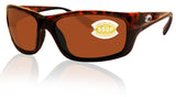 Costa Del Mar Jose Tortoise Frame Copper 580P Plastic Polarized Lens