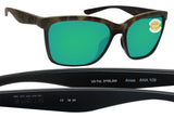 Costa Del Mar Anaa Olive Tortoise Black Green Mirror 580 Plastic Polarized Lens