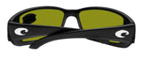 Costa Del Mar Blackfin Black Sunrise Silver Mirror 580 Glass Polarized Lens