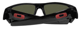Oakley Gascan Polished Black Frame Prizm Ruby Lens Sunglasses 0OO9014