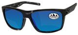 Costa Del Mar Slack Tide Ocearch Tiger Shark Frame Blue Mirror 580G Glass Lens