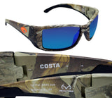 Costa Del Mar Blackfin Realtree Xtra Camo Blue Mirror 580G Glass Polarized Lens