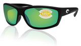 Costa Del Mar Saltbreak Black Frame Green Mirror 580P Plastic Polarized Lens