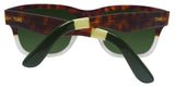 Toms Culver 201 10005460 Tortoise Clear Fade Green Grey 57 Lens Sunglasses NEW
