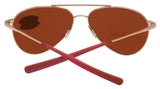 Costa Del Mar Piper Satin Rose Frame Copper 580 Plastic Polarized Sunglasses