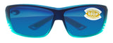 Costa Del Mar Cat Cay Caribbean Frame Blue Mirror 580P Plastic Polarized Lens