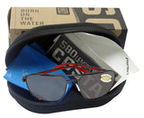 Costa Del Mar Wader Dark Gunmetal Frame Gray 580 Plastic Polarized Lens