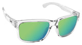 Under Armour 8600101-141481 assist crystal clear frosted frame gray green lens
