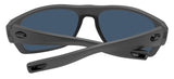 Costa Del Mar Tico Matte Gray Copper Silver Mirror 580 Plastic Polarized Lens