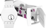 Swatch SUOW100F Sexy Thing watch NEW  WHITE