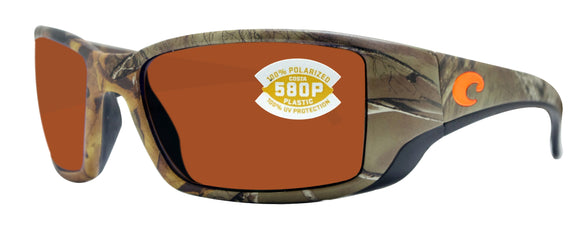 Costa Del Mar Blackfin Realtree Camo Frame Copper 580 Plastic Polarized Lens
