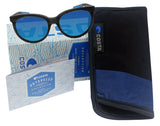 Costa Del Mar Victoria Net Gray Frame Blue Mirror 580G Glass Polarized Lens