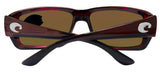 Costa Del Mar Fantail Tortoise Frame Copper 580P Plastic Polarized Lens