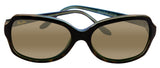 Maui Jim HS700-10P Cloud Break Tortoise Peacock Blue Bronze Lens Sunglasses New