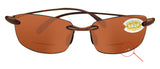 Costa Del Mar Ballast Reader C-Mate Tortoise 1.50 Copper 580P Plastic Lens New
