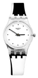 Swatch Originals LK370 Dot around the White Black women Watch