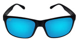 Maui Jim B432-2M red sands matte black frame blue hawaii polarized len new
