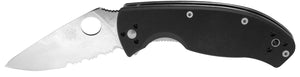 Spyderco Tenacious Combo Edge G-10 Handle Folding Knife C122GPS NEW