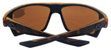 Costa Del Mar Bloke Retro Tortoise Black Frame Copper 580P Plastic Polarized Len