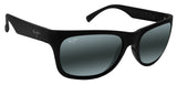 Maui Jim 736-02MR Kahi Black Frame Grey Neutral Polarized Lens new