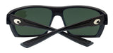 Costa Del Mar Hamlin Matte Black Frame Blue Mirror 580G Glass Polarized Lens