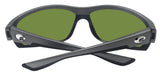 Costa Del Mar Saltbreak Gray Frame Green Mirror 580P Plastic Polarized Lens