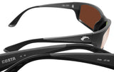 Costa Del Mar Jose Gray Frame Copper Silver Mirror 580 Glass Polarized Lens