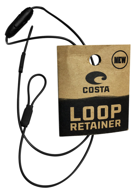 Costa Del Mar LOOP retainer  BLACK NEW LR 11